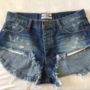 One Teaspoon Roller Shorts